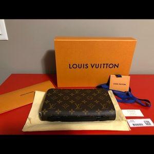 Louis Vuitton Monogram Massacre XL Zippy Wallet